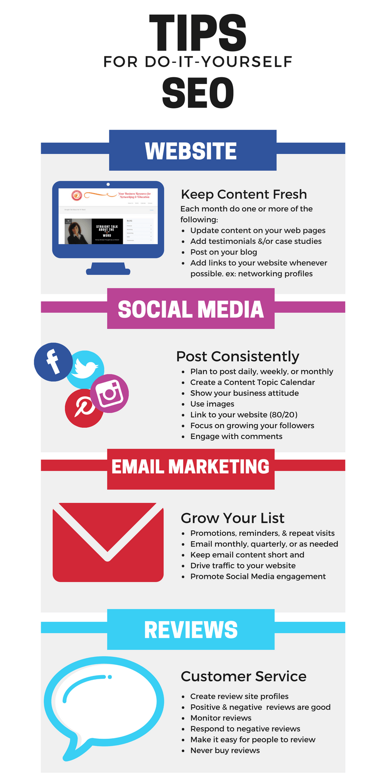 SEO Do-it-Yourself Infographic