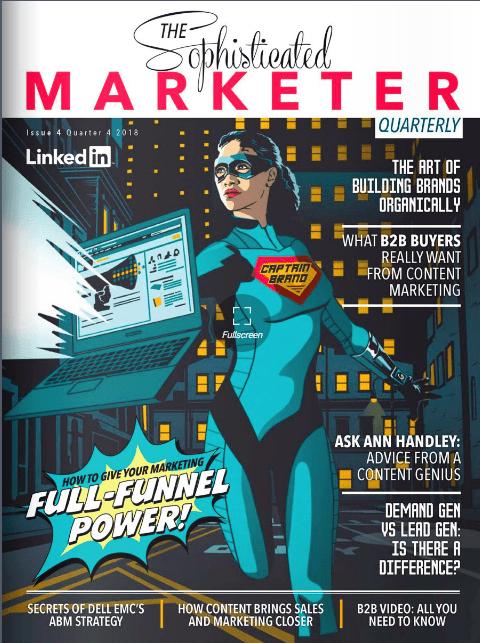 LinkedIn Captain Brand The Sophisticated Marketer